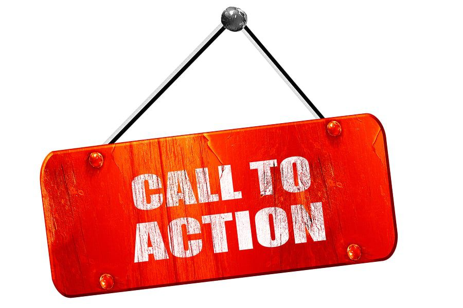 blogging call to action