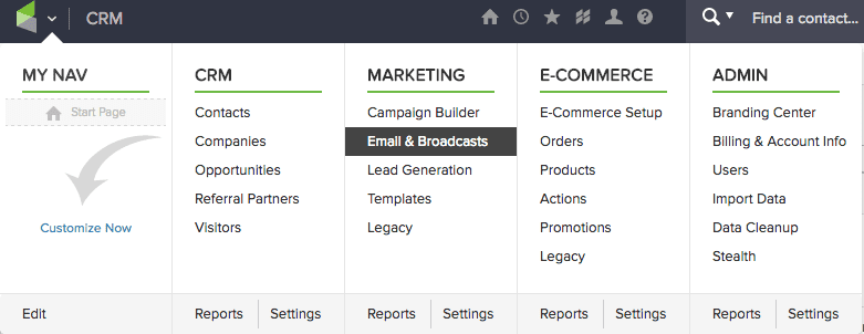 infusionsoft crm business tools