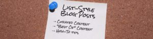 3 Types of List-Style Blog Posts You Can Write to Win More Readers