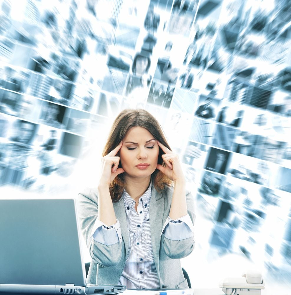 information overload and content marketing