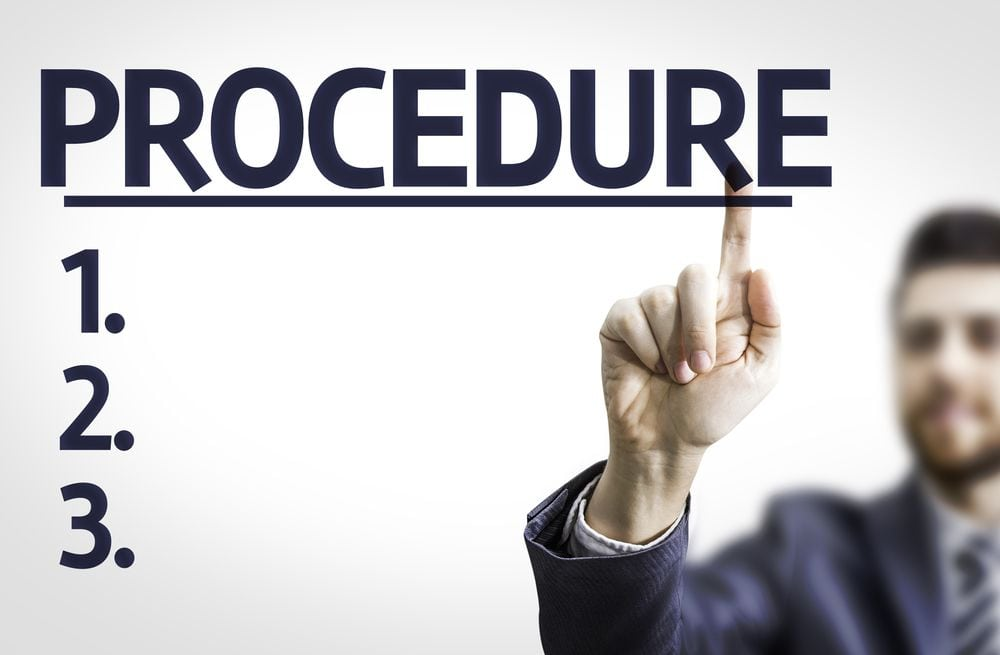 building a standard operating procedure