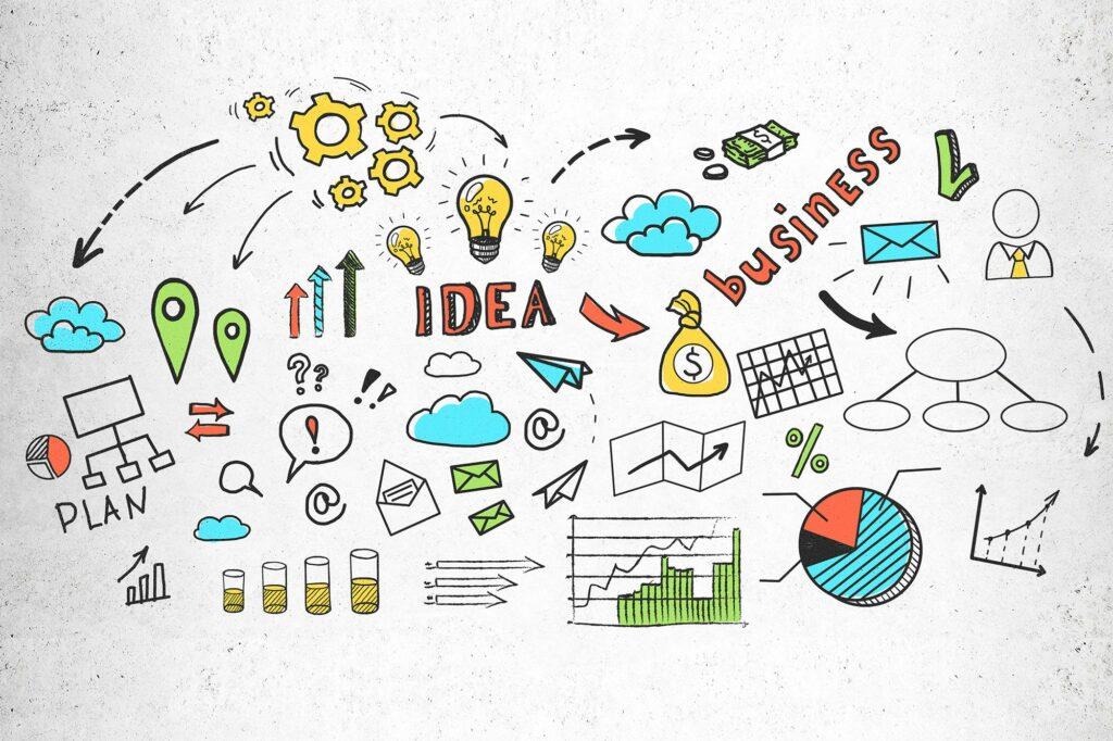 colorful-business-idea-sketch